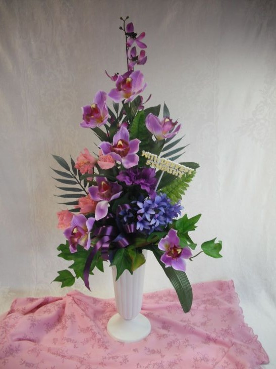 Memorial arrangements memorial arrangements are a unique collection of silk flower arrangements for grave sites or memorial services mightylinksfo